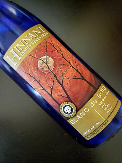 Hinnant Family Vineyard – Blanc du Bois