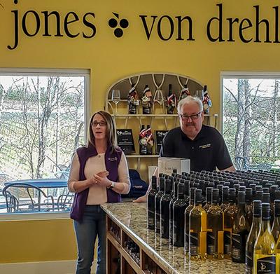 Jones Von Drehle Tasting Room