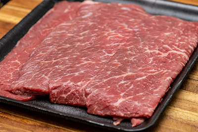 Raw Bottom Round Steak