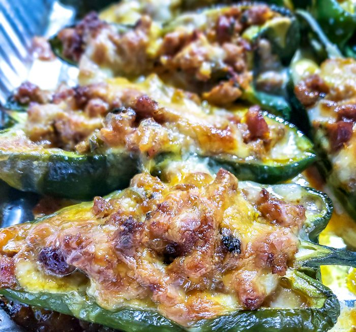 Cooked Poblanos