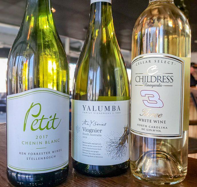 Three Wines in The Flight