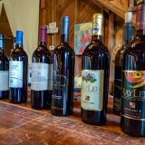 Wine Lineup at Summit