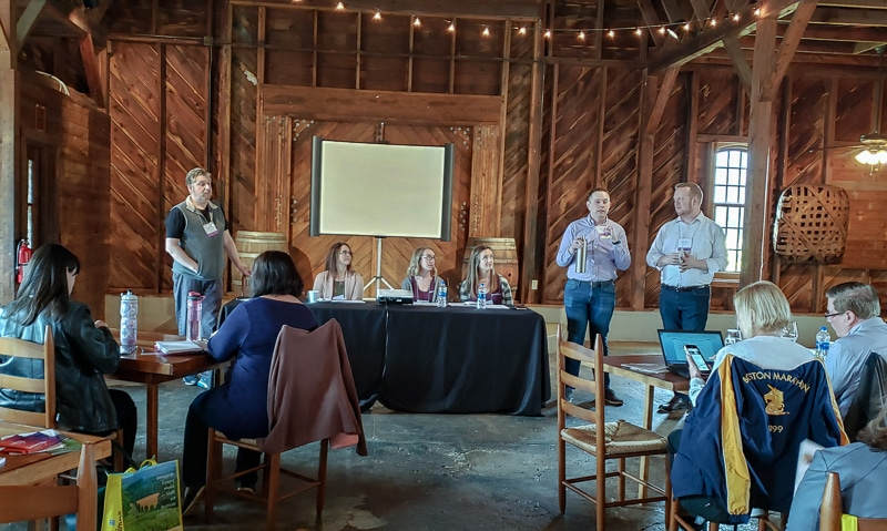 #NCWine Bloggers Summit Panel
