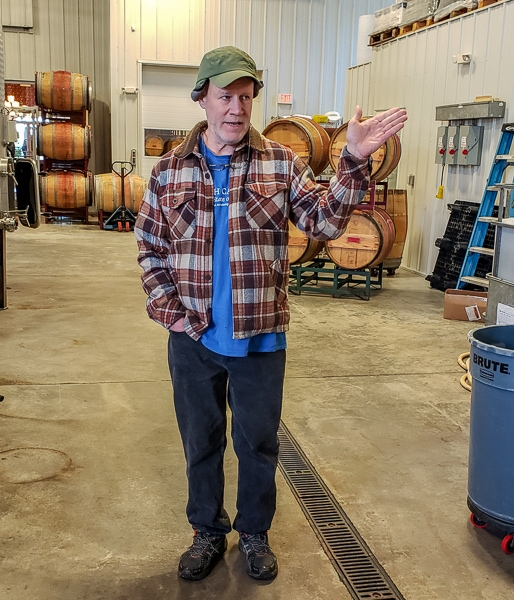 Jones von Drehle Vineyards & Winery Winemaker Dan Tallman