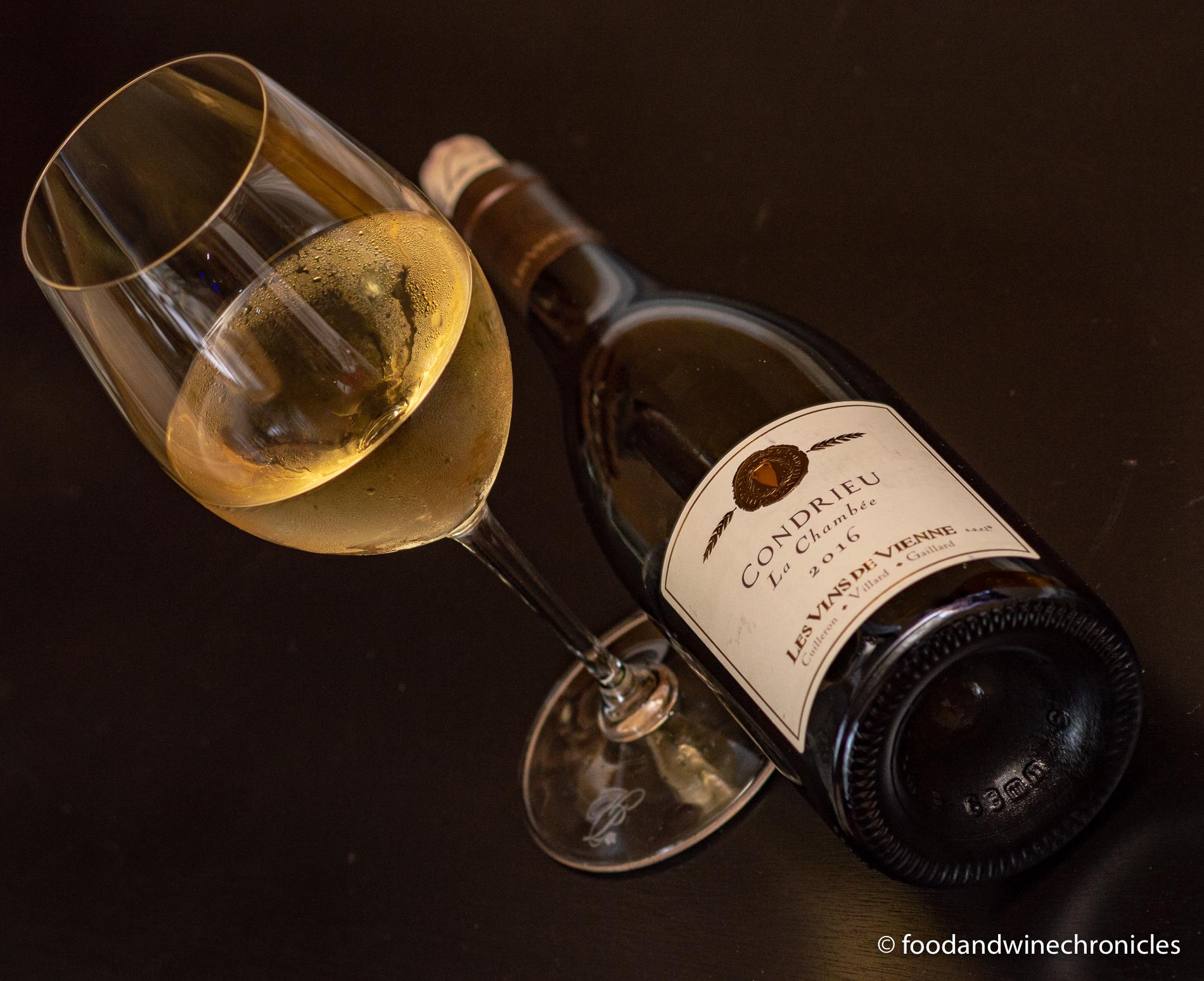 Les Vins de Vienne Condrieu bottle