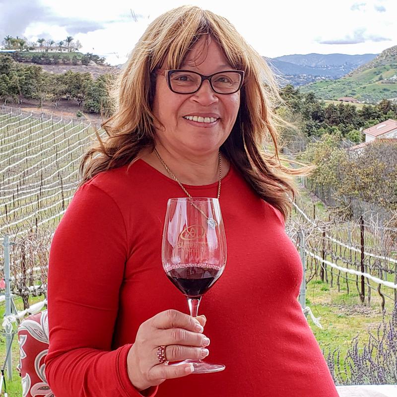 Altipiano Winemaker Denise Clark