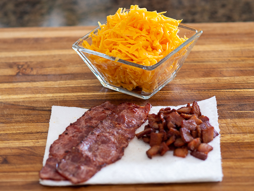 Prepared Meat and Cheese