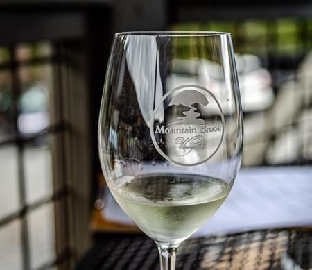 Mountain Brook Wine Glass