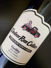 Windsor Run Cellars Guilty Wine