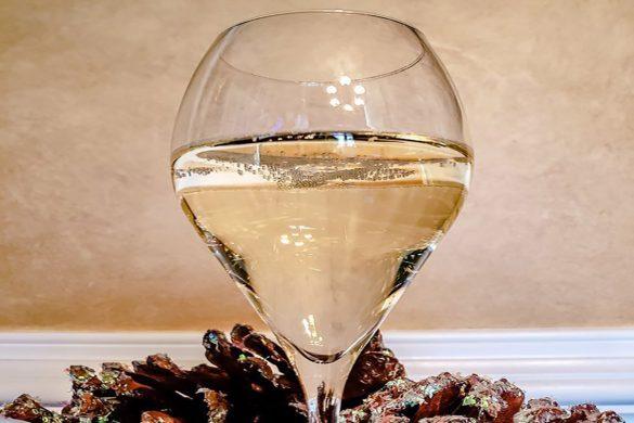 Kirkland Prosecco in glass