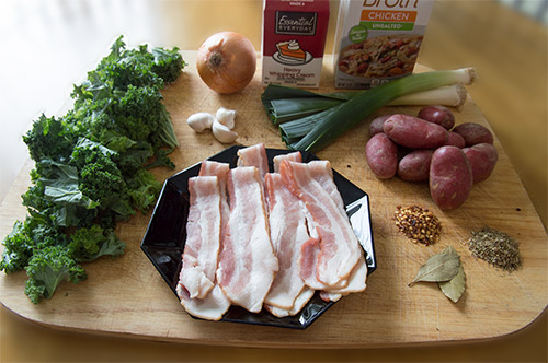 Potato Bacon Soup Ingredients