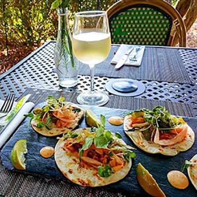 Williamsburg Winery Fish Tacos
