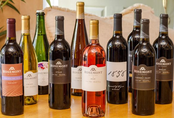 Rosemont of Virginia Vineyards Wines