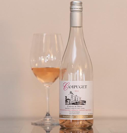 Chateau de Campuget Tradition Rosé 2018