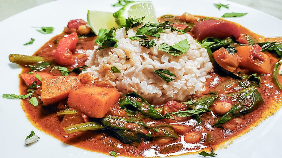 Quick&Easy: Vegetable Curry — Warm & Spicy