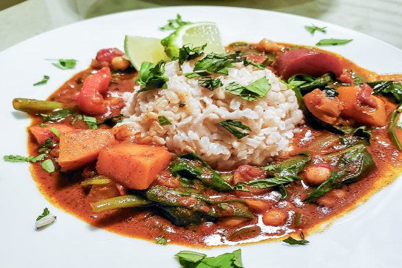 Spicy Vegetable Curry