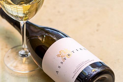 Papagiannakos Assyritko Wine