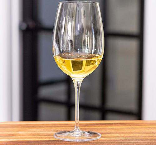The FMC Chenin Blanc in the glass