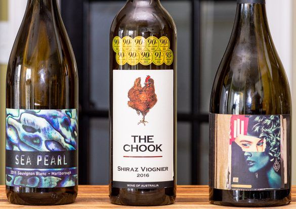Sea Pearl, The Chook, and Blank Stare Wines