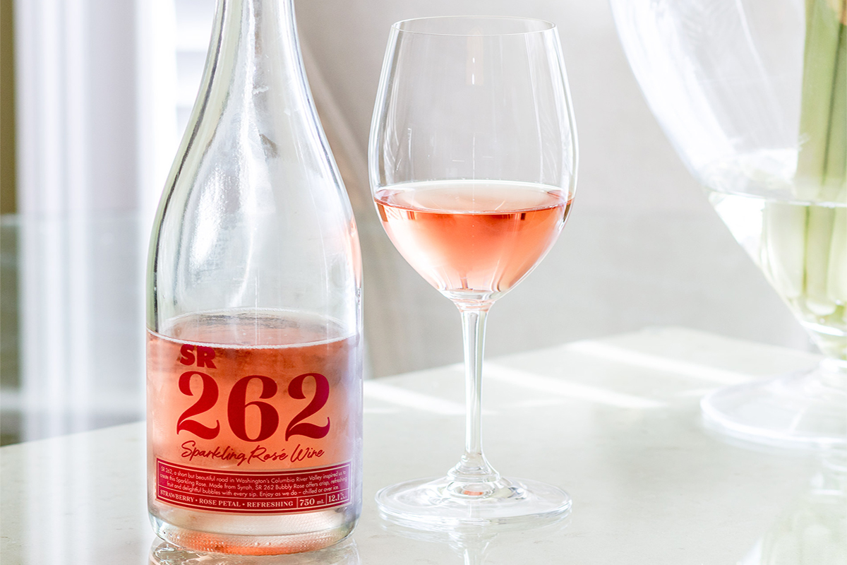 SR 262 Sparkling Rose Wine