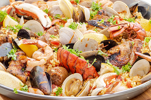 Extreme Grilled Paella Recipe