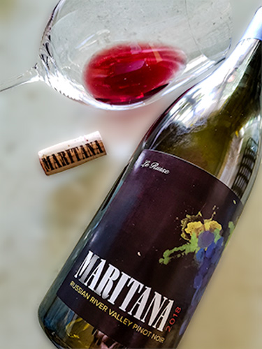 Maritana Vineyards Le Russe Pinot Noir